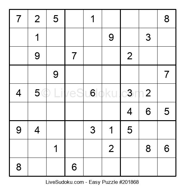Beginners Puzzle #201868