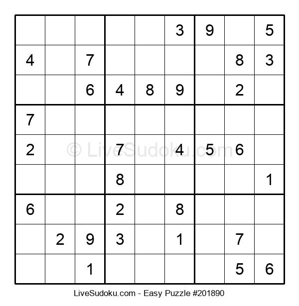 Beginners Puzzle #201890
