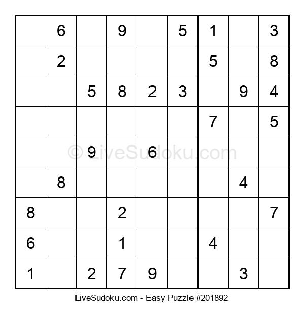 Beginners Puzzle #201892