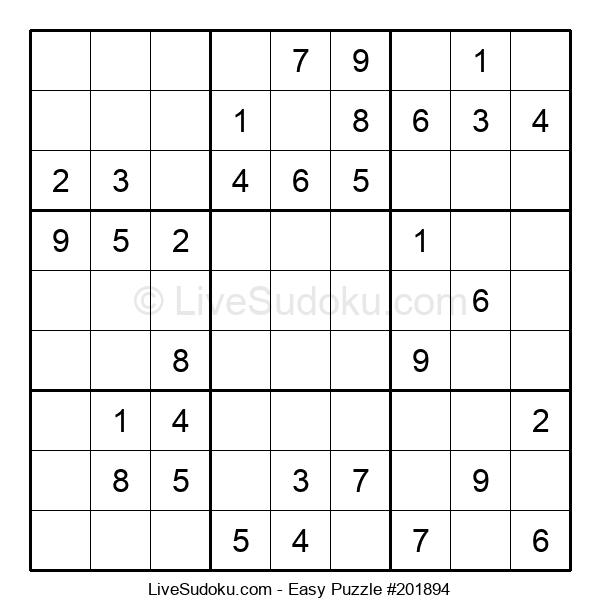 Beginners Puzzle #201894