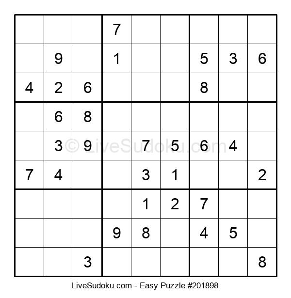 Beginners Puzzle #201898