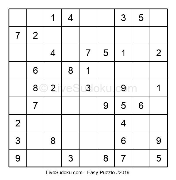 Beginners Puzzle #2019