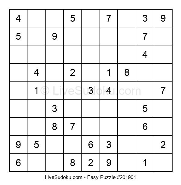 Beginners Puzzle #201901