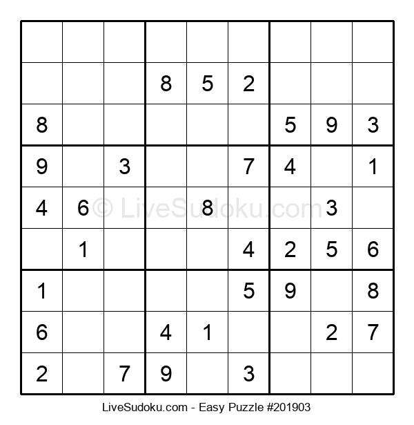 Beginners Puzzle #201903