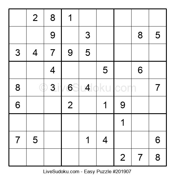 Beginners Puzzle #201907