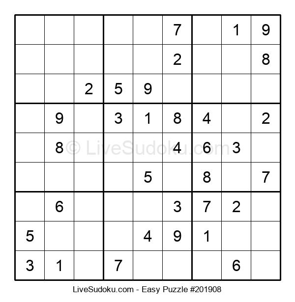Beginners Puzzle #201908