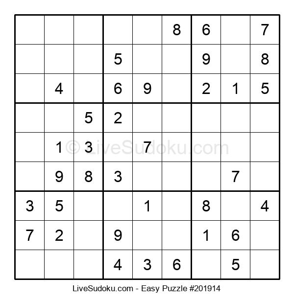 Beginners Puzzle #201914