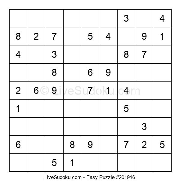 Beginners Puzzle #201916