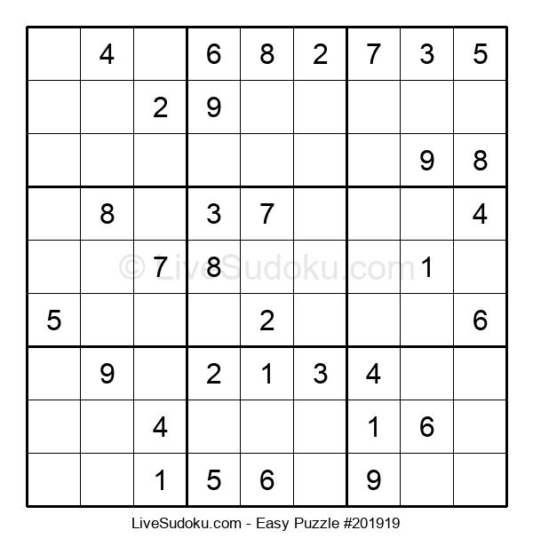 Beginners Puzzle #201919