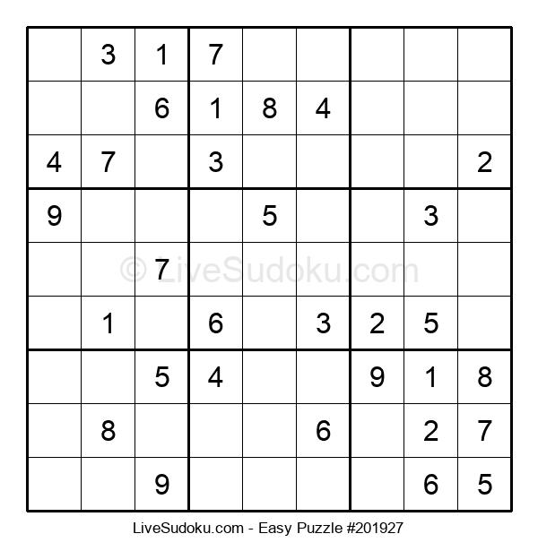 Beginners Puzzle #201927