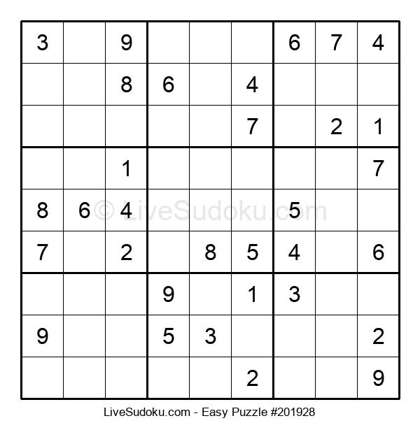 Beginners Puzzle #201928