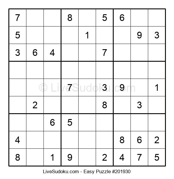 Beginners Puzzle #201930