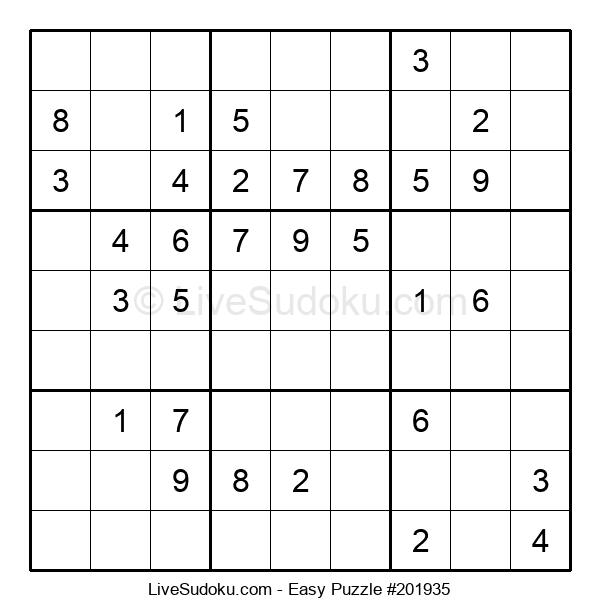 Beginners Puzzle #201935