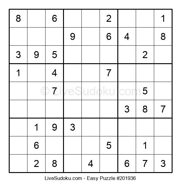 Beginners Puzzle #201936