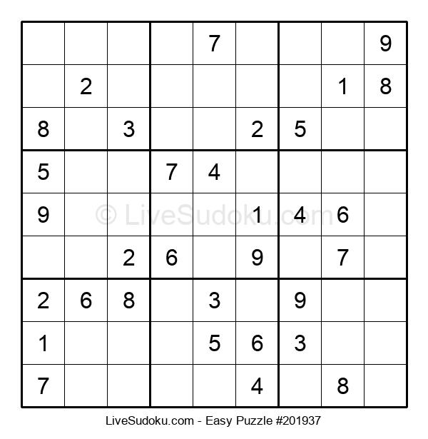 Beginners Puzzle #201937