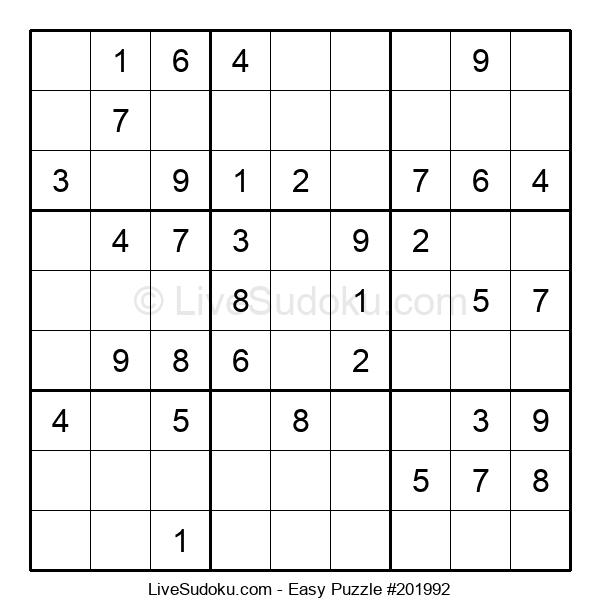Beginners Puzzle #201992