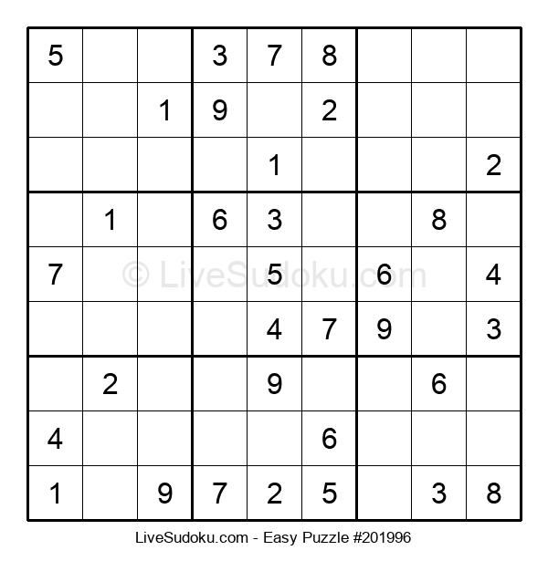 Beginners Puzzle #201996