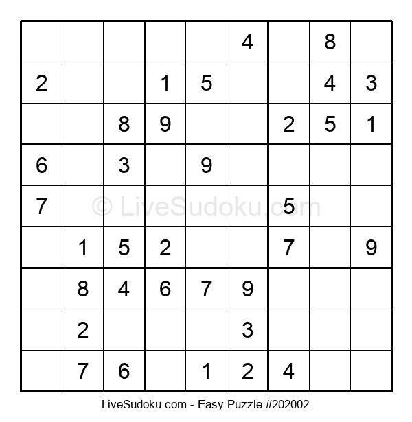 Beginners Puzzle #202002