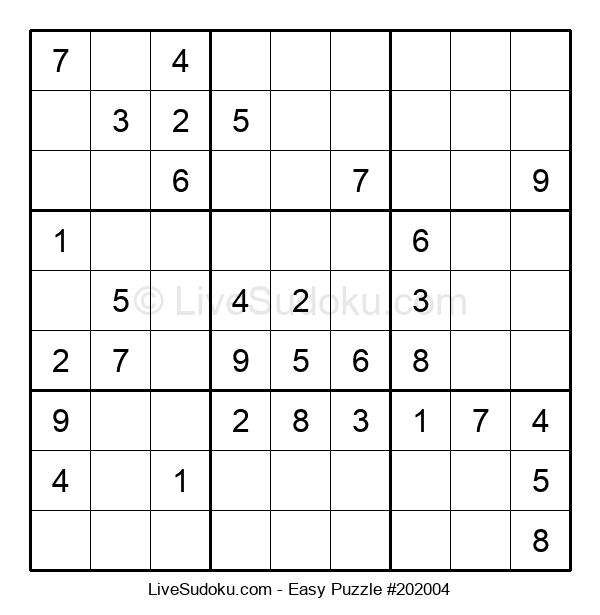 Beginners Puzzle #202004