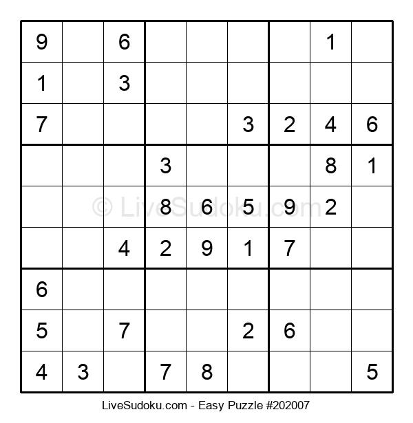 Beginners Puzzle #202007