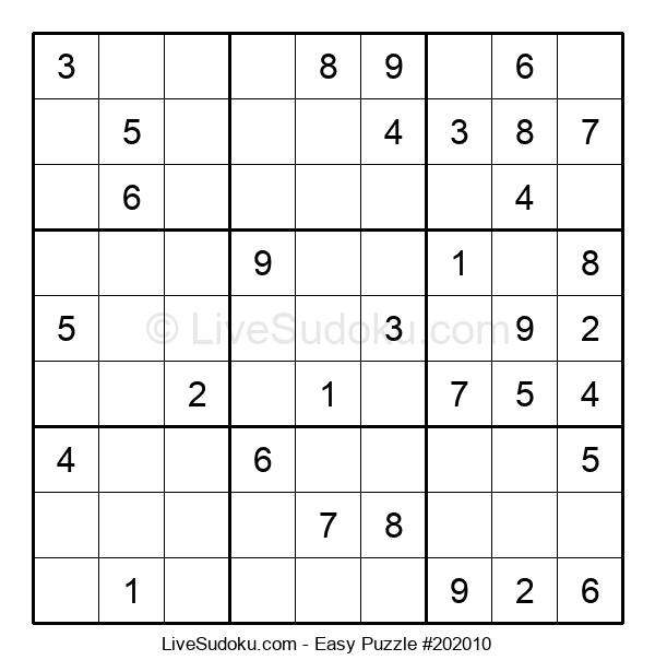 Beginners Puzzle #202010