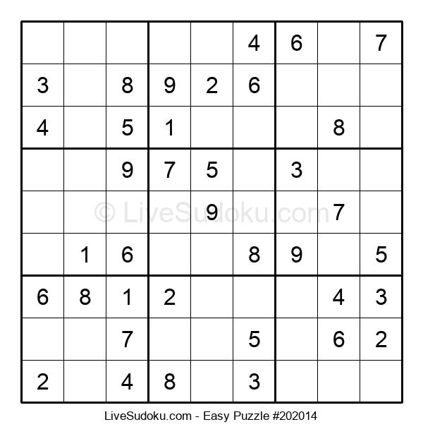 Beginners Puzzle #202014