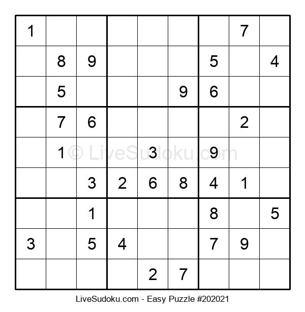 Beginners Puzzle #202021