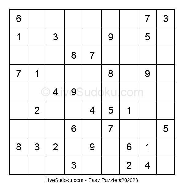 Beginners Puzzle #202023