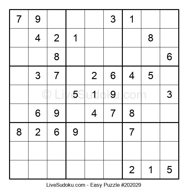 Beginners Puzzle #202029