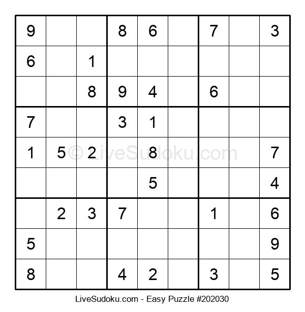 Beginners Puzzle #202030