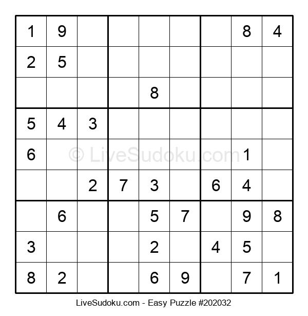 Beginners Puzzle #202032