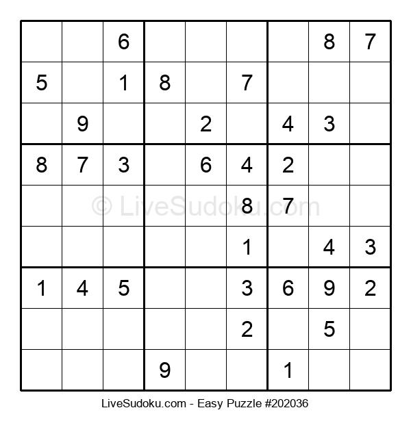 Beginners Puzzle #202036