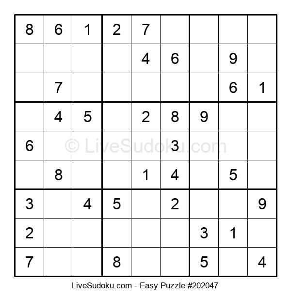 Beginners Puzzle #202047