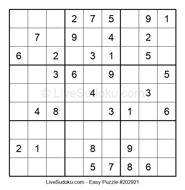 Beginners Puzzle #202921