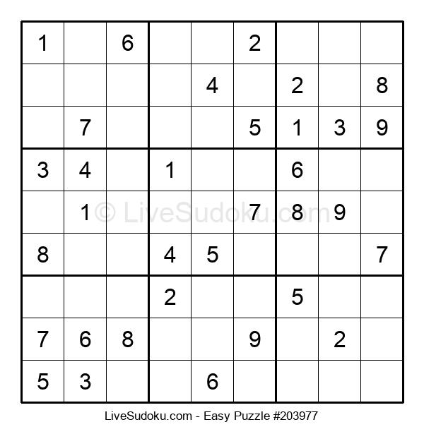 Beginners Puzzle #203977