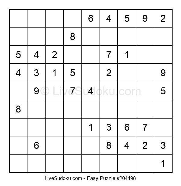 Beginners Puzzle #204498