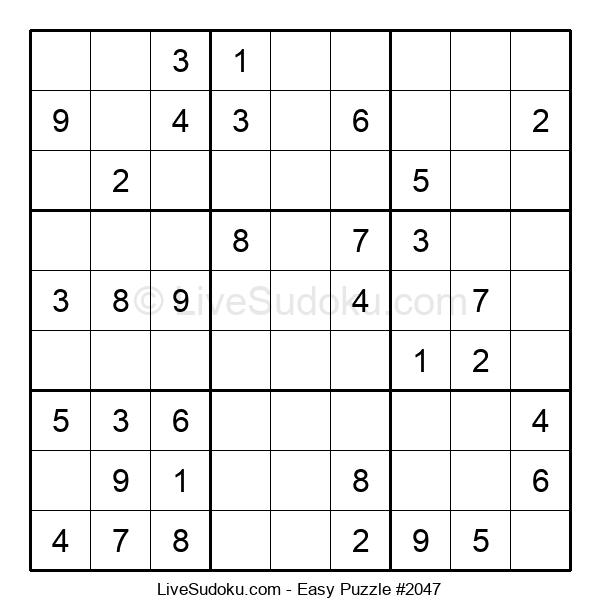 Beginners Puzzle #2047