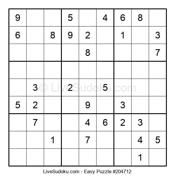 Beginners Puzzle #204712