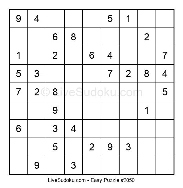 Beginners Puzzle #2050