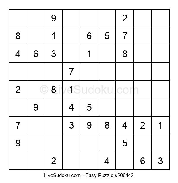 Beginners Puzzle #206442