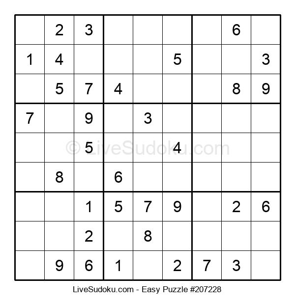 Beginners Puzzle #207228