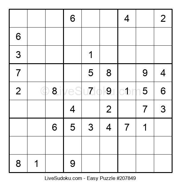 Beginners Puzzle #207849