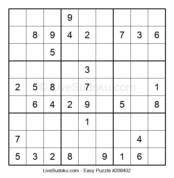 Beginners Puzzle #208402