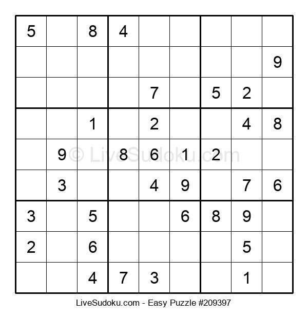 Beginners Puzzle #209397