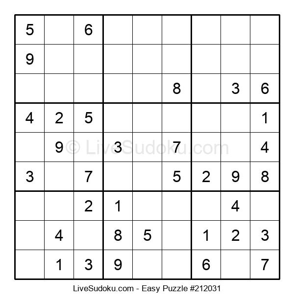 Beginners Puzzle #212031