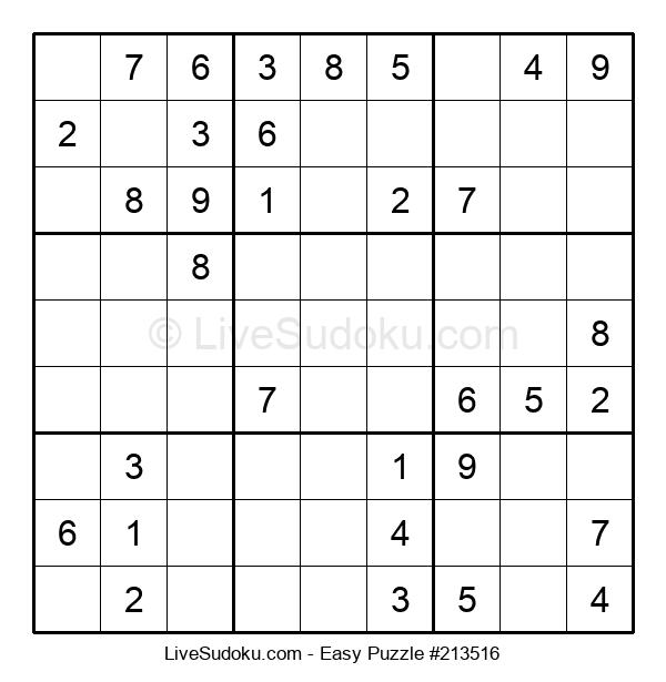 Beginners Puzzle #213516