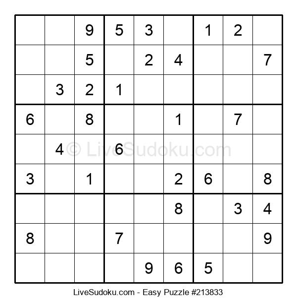 Beginners Puzzle #213833