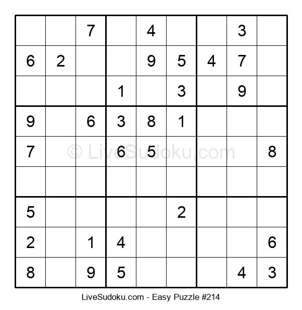 Beginners Puzzle #214