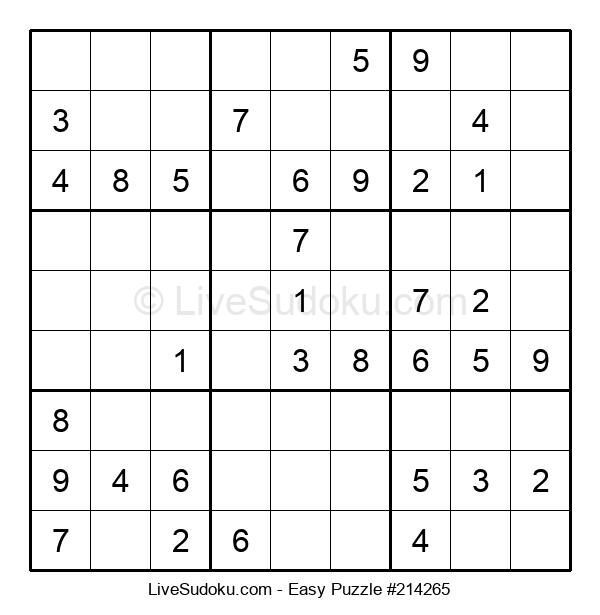 Beginners Puzzle #214265