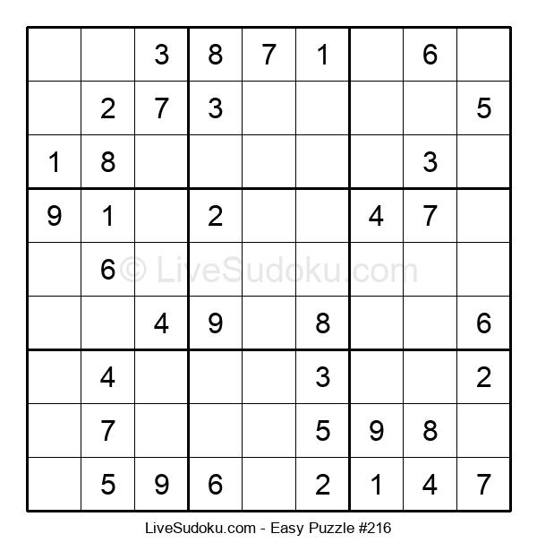Beginners Puzzle #216